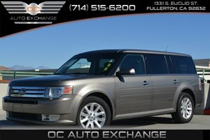 2012 Ford Flex SEL Carfax 1-Owner 18 Machined Aluminum Wheels Air Conditioning  Climate Contr