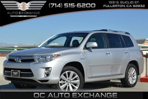 2013 Toyota Highlander Hybrid Limited Carfax 1-Owner - No Accidents  Damage Reported to CARFAX A