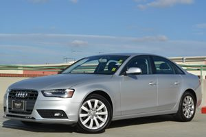 2013 Audi A4 Premium Carfax 1-Owner - No Accidents  Damage Reported to CARFAX Air Conditioning
