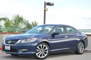 2013 Honda Accord Sdn Sport Carfax 1-Owner 18 Alloy Wheels Air Conditioning  Climate Control