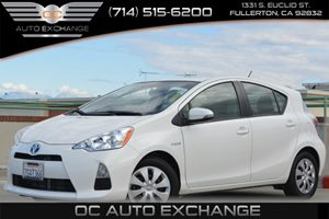 2014 Toyota Prius c One Carfax Report Air Conditioning  AC Air Conditioning  Climate Control