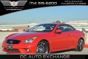 2013 Infiniti G37 Convertible Base Carfax 1-Owner Air Conditioning  Climate Control Air Conditi
