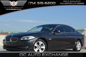 2013 BMW 5 Series 528i Carfax 1-Owner Air Conditioning  Climate Control Air Conditioning  Mult