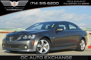 2009 Pontiac G8 GT Carfax Report - No Accidents  Damage Reported to CARFAX Air Conditioning  Cl
