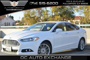 2014 Ford Fusion SE Carfax 1-Owner Air Conditioning  AC Audio  Satellite Radio Back Up Camer