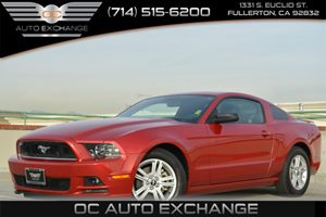 2013 Ford Mustang V6 Carfax 1-Owner Air Conditioning  AC Convenience  Steering Wheel Audio Co