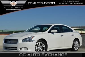 2013 Nissan Maxima 35 S Carfax 1-Owner Air Conditioning  AC Air Conditioning  Multi-Zone AC