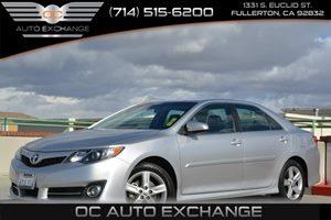 2012 Toyota Camry SE Carfax 1-Owner Air Conditioning  AC Convenience  Steering Wheel Audio Co