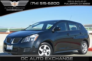 2010 Pontiac Vibe w1SA Carfax Report - No Accidents  Damage Reported to CARFAX Fuel Economy  2
