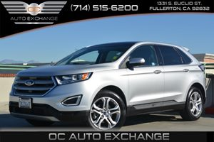 2015 Ford Edge Titanium Carfax 1-Owner - No Accidents  Damage Reported to CARFAX Air Conditionin