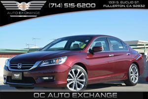 2015 Honda Accord Sedan Sport Carfax 1-Owner - No Accidents  Damage Reported to CARFAX Air Condi