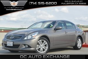 2013 Infiniti G37 Sedan x Carfax 1-Owner Air Conditioning  Climate Control Air Conditioning  M