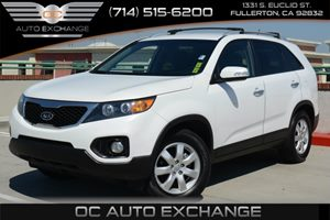 2012 Kia Sorento LX Carfax Report - No Accidents  Damage Reported to CARFAX Air Conditioning  A