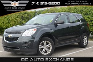 2013 Chevrolet Equinox LS Carfax 1-Owner - No Accidents  Damage Reported to CARFAX Air Condition