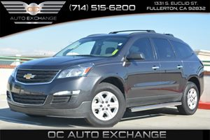 2014 Chevrolet Traverse LS Carfax 1-Owner Air Conditioning  AC Air Conditioning  Rear AC Au