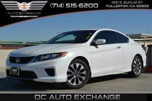 2013 Honda Accord Cpe LX-S Carfax 1-Owner Air Conditioning  Climate Control Air Conditioning