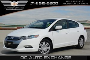 2011 Honda Insight Hybrid Carfax 1-Owner Air Conditioning  AC Air Conditioning  Climate Contr