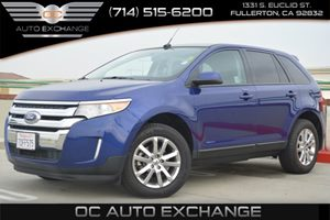 2013 Ford Edge SEL Carfax 1-Owner Air Conditioning  AC Air Conditioning  Multi-Zone AC Conv