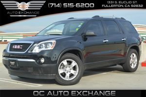 2012 GMC Acadia SL Carfax 1-Owner Air Conditioning  AC Air Conditioning  Rear AC Convenienc