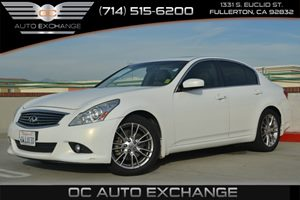 2013 Infiniti G37 Sedan Journey Carfax 1-Owner - No Accidents  Damage Reported to CARFAX Air Con