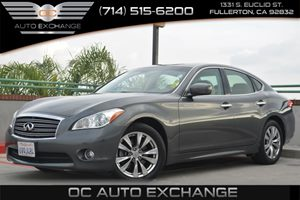 2012 Infiniti M37  Carfax 1-Owner - No Accidents  Damage Reported to CARFAX Air Conditioning  C