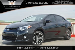 2015 Toyota Corolla S Carfax 1-Owner - No Accidents  Damage Reported to CARFAX Air Conditioning