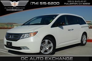 2013 Honda Odyssey Touring Carfax 1-Owner Air Conditioning  Multi-Zone AC Air Conditioning  R