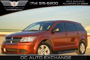 2013 Dodge Journey American Value Pkg Carfax Report 17 Wheel Covers Air Conditioning  AC Co