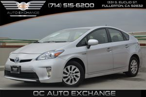 2013 Toyota Prius Plug-In  Carfax 1-Owner Air Conditioning  AC Audio  Hd Radio Audio  Satel