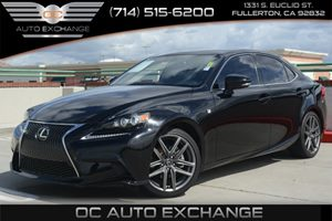 2014 Lexus IS 250 F Sport Carfax 1-Owner Air Conditioning  Climate Control Air Conditioning  M