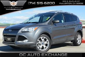 2014 Ford Escape Titanium EcoBoost 4WD Carfax 1-Owner Air Conditioning  Climate Control Air Con