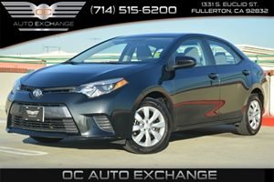2015 Toyota Corolla LE Carfax 1-Owner Air Conditioning  AC Audio  Auxiliary Audio Input Audi
