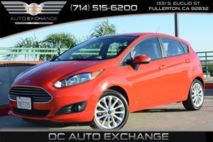 2014 Ford Fiesta SE Carfax 1-Owner Air Conditioning  AC Audio  Auxiliary Audio Input Audio