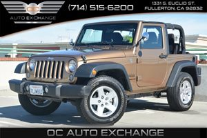 2015 Jeep Wrangler Sport Carfax 1-Owner - No Accidents  Damage Reported to CARFAX Audio  AmFm