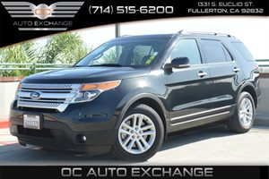 2013 Ford Explorer XLT Carfax 1-Owner Air Conditioning  AC Air Conditioning  Rear AC Audio