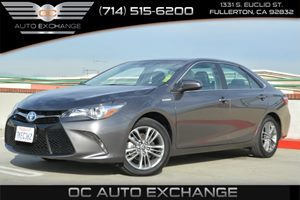 2015 Toyota Camry Hybrid SE Carfax 1-Owner Air Conditioning  Climate Control Air Conditioning