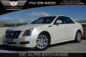 2012 Cadillac CTS Sedan Luxury Carfax 1-Owner Air Conditioning  Climate Control Air Conditionin