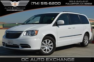 2015 Chrysler Town  Country Touring Carfax 1-Owner Air Conditioning  Climate Control Air Condi