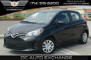 2015 Toyota Yaris L Carfax 1-Owner - No Accidents  Damage Reported to CARFAX Air Conditioning