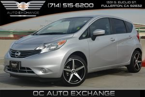 2015 Nissan Versa Note S Plus Carfax 1-Owner Air Conditioning  AC Audio  AmFm Stereo Audio