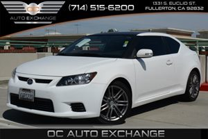 2012 Scion tC  Carfax 1-Owner  Super White 17697Per Month - On Approved Credit--Seeour en