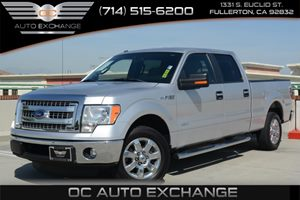 2013 Ford F-150 XLT EcoBoost Carfax 1-Owner Air Conditioning  AC Audio  Auxiliary Audio Input