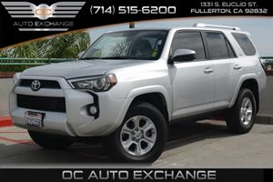2014 Toyota 4Runner SR5 Carfax 1-Owner Air Conditioning  AC Convenience  Back-Up Camera Conv