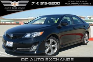 2012 Toyota Camry SE Carfax 1-Owner Air Conditioning  AC Audio  Auxiliary Audio Input Audio