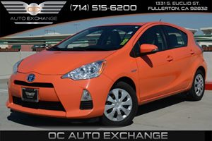 2014 Toyota Prius c One Carfax 1-Owner - No Accidents  Damage Reported to CARFAX Air Conditionin