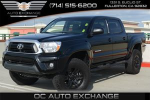 2015 Toyota Tacoma V6 SR5 4X4 Carfax 1-Owner - No Accidents  Damage Reported to CARFAX Air Condi