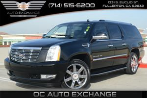 2013 Cadillac Escalade ESV Luxury Carfax 1-Owner Air Conditioning  Climate Control Air Conditio