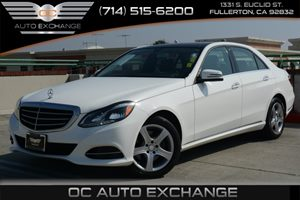 2014 MERCEDES E350 Luxury Sedan Carfax 1-Owner Air Conditioning  Climate Control Air Conditioni