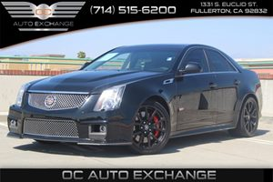 2013 Cadillac CTS-V Sedan  Carfax 1-Owner - No Accidents  Damage Reported to CARFAX  Black Dia