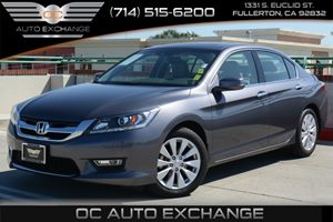 2013 Honda Accord Sdn EX-L Carfax 1-Owner Air Conditioning  Climate Control Air Conditioning